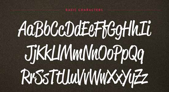 30 Creative Script Fonts to Emphasize Typography