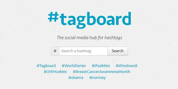 Tagboard - Search any #hashtag