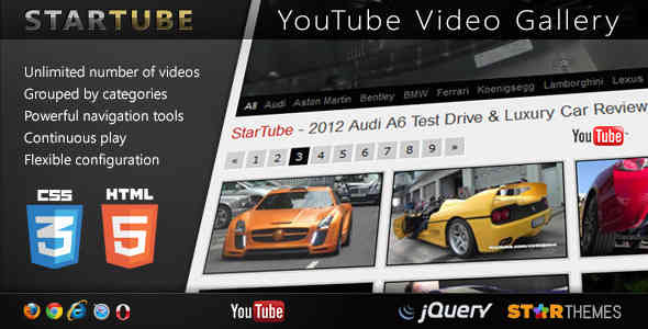 8 jQuery YouTube Plugins to Easily Embed Videos
