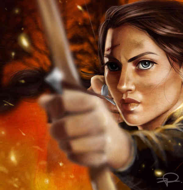 Katniss Everdeen Fanart