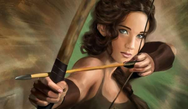 The Hunger Graphics: Katniss Everdeen Inspired Artworks
