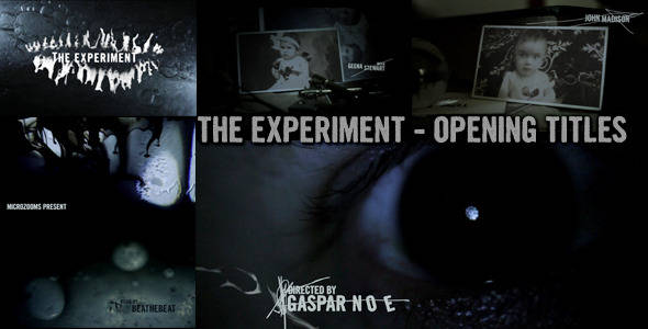 The Experiment - Movie Opening Titles