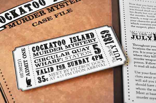 20 outstanding ticket designs for inspiration
