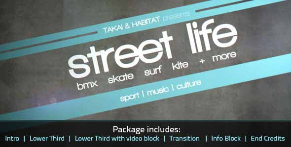 Street Life Sports Package
