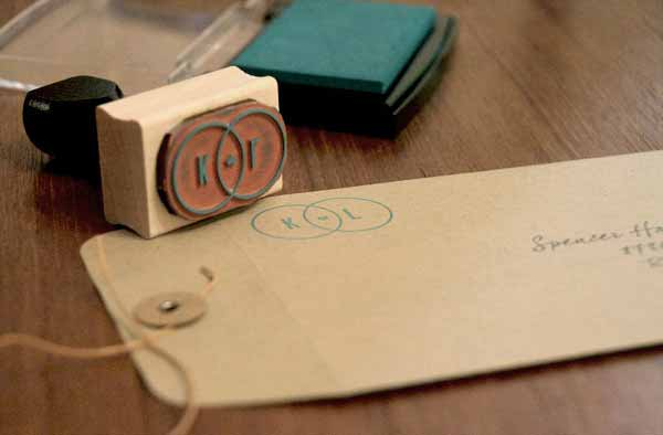 K+L Wedding Invitations