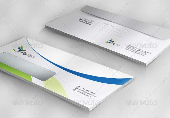 FlySpa Corporate Envelope Pack