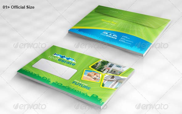 Real Estate Official Envelope Pack