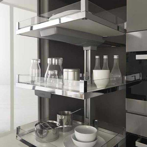 Vertical Pull-out Kitchen Unit