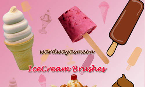 Ice Cream Brushes