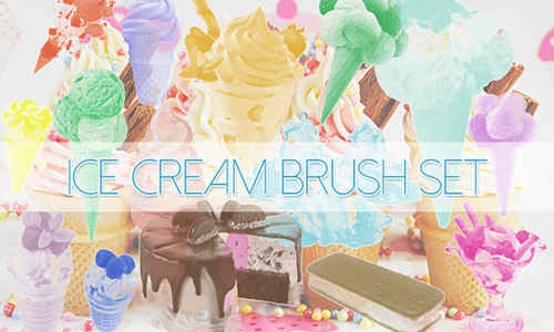 Ice cream Brushes Pack