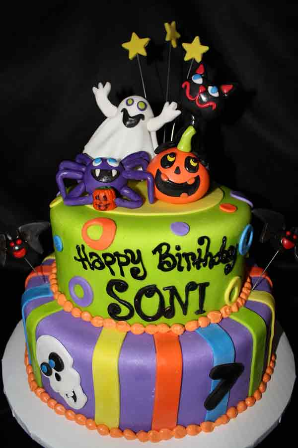 halloween cake birthday