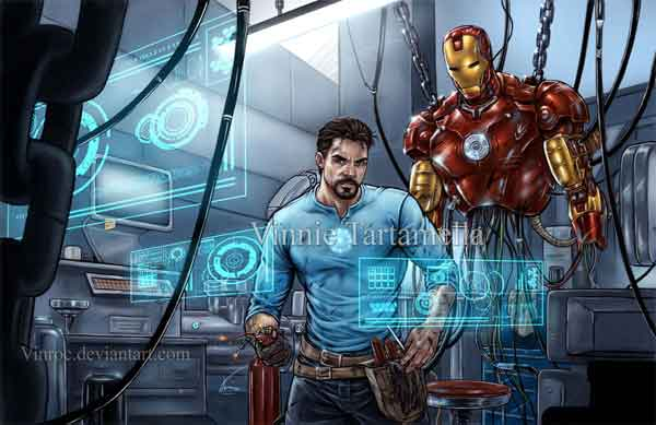 Iron Man Replacement Parts
