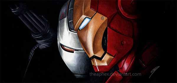 Iron Man & War Machine - Brothers In Arms