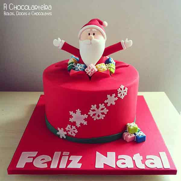 Cake Decorating Father Christmas : Christmas Cake Designs: 20 Santa Claus Cakes