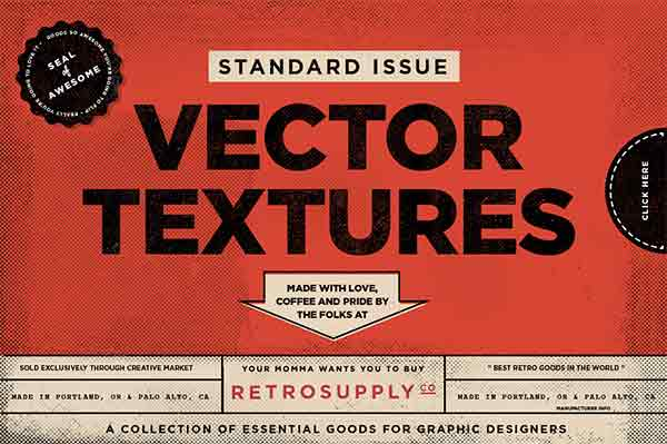 Standard Issue Vector Texture Pack