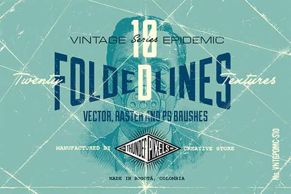 20 Folded Lines Textures - VES10