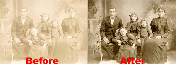 Restoring an Old Photograph