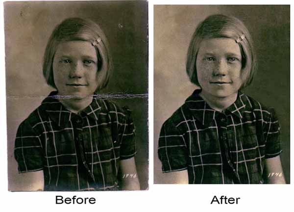Repair and Retouch an Old Photograph in Photoshop