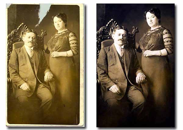 How to Restore Old, Damaged Photos