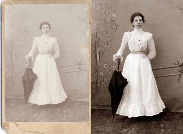 Repairing Old Pictures Using Adobe Photoshop