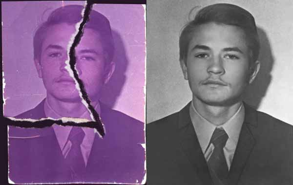 Restoration of a Damaged Photo