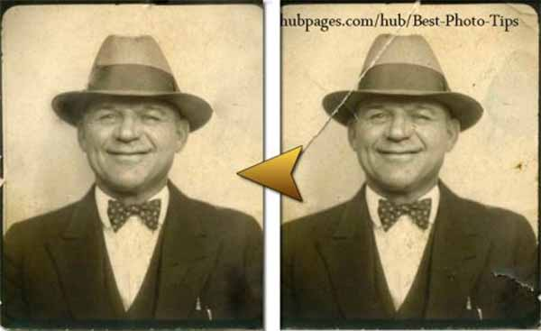 Repairing Old Photos Using Photoshop