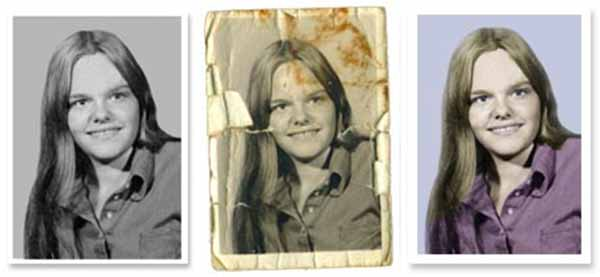 Photo Restoration Tutorial with Photoshop