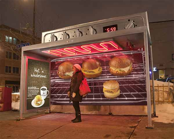 Caribou Coffee: Oven Bus Stop