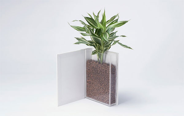 The Book Vase