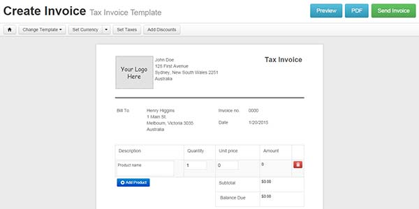 Instant Invoices - Create & Send Invoice Online for Free