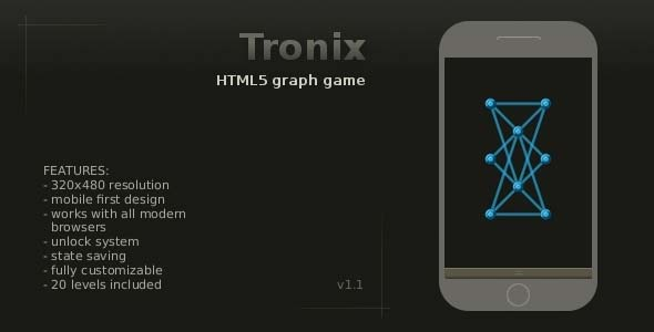 Tronix - Graph Game