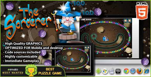 The Sorcerer - HTML5 Game