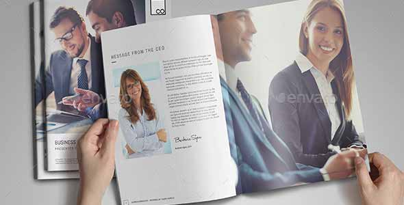 Corporate Brochure Templates