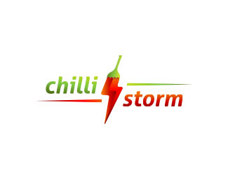 Chilli Storm Logo Design