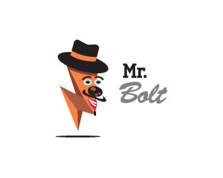 Mr. Bolt Logo Design