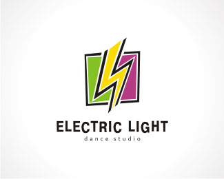 Electric Light Logo Design