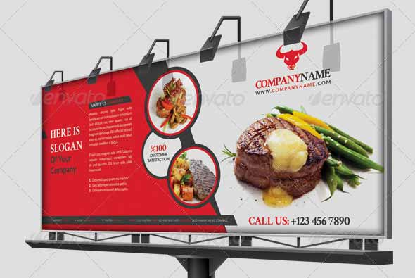 Restaurant Business Billboard
