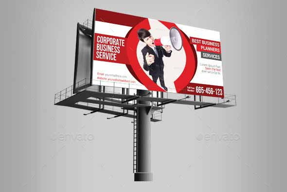 Corporate Business Billboard Banner Template