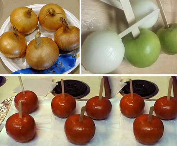 Make some Oniols (Onion + Apples)