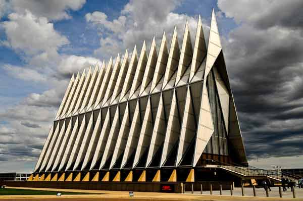 Cadet Chapel in Colorado, USA