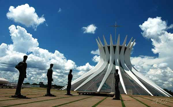 Cathedral of Brasilia in Brasilia, Brazil