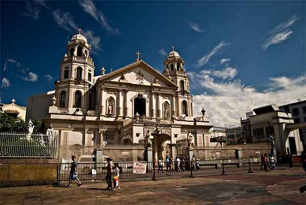 Quiapo Church in Manila, Philippines