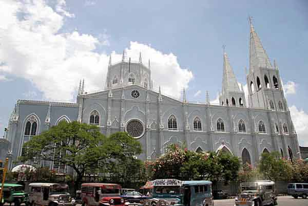 San Sebastian Church in Manila, Philippines