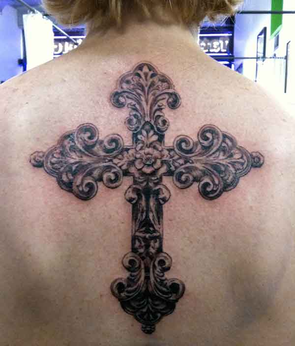A Cross Tattoo