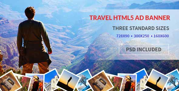 Tours and Travel HTML5 Google Ad