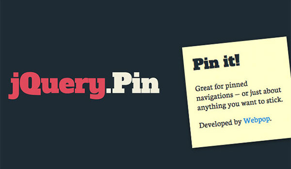 15 Clever jQuery Plugins to Make Web Elements Sticky