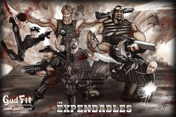 The Expendables Artworks