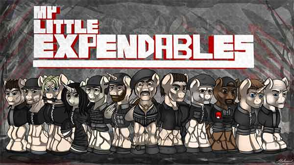 My Little Expendables