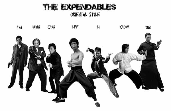 The Expendables - Oriental Style