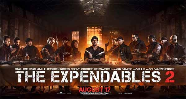 The Expendables Last Supper